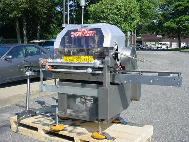LAKSO Model 71 Twin Head Cottoner, 150 Per Min.