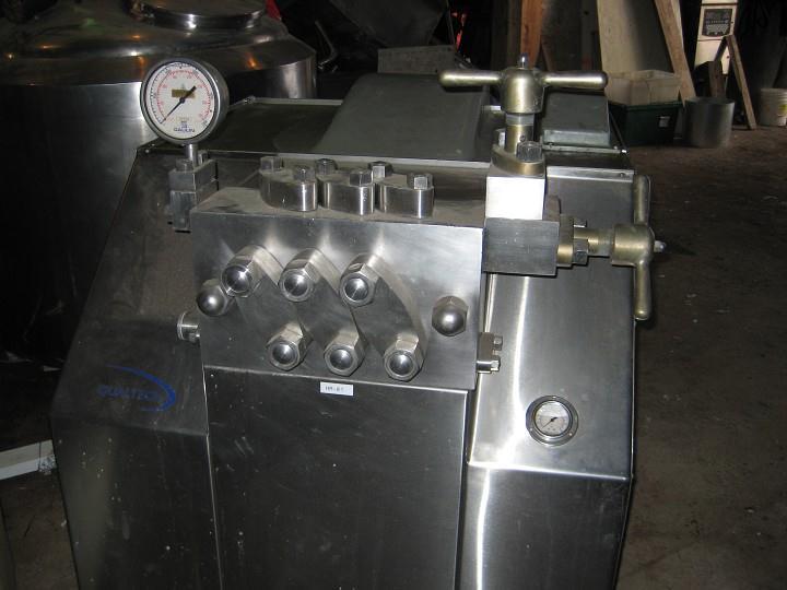 MANTON-GAULIN Type 800  M6 3TPS Homogenizer