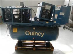 127031 - 5 HP QUINCY Air Compressor
