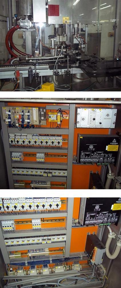Image GRONINGER Model KFVG 201 Filler Capper 342902