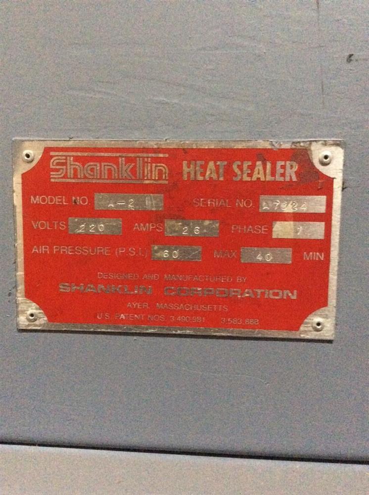 Image SHANKLIN A-2 Auto L-Sealer 947376