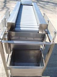 "128062 - 11-1/2"" x 49-1/2"" Powered Roller Conveyor"