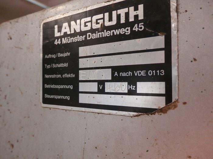 Image LANGGUTH Model E-40 Labeler 851978