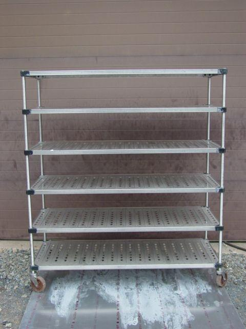 "Image METRO Louvered 304SS 6-Shelf Unit  24"" x 60"" 345136"
