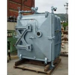 130567 - 333 SF H.K. PORTER COMPANY Vacuum 20 Tray Carbon Steel Tray Dryer