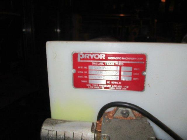 1 HP PRYOR Model PPMC-HS/2 22 Tray Sealer