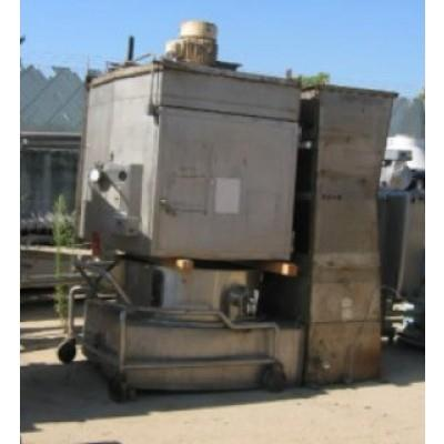 1/2 HP FITZPATRICK FA-250 304 Stainless Steel Fluid Bed Dryer