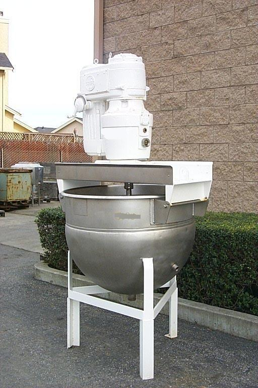 100 Gallon HAMILTON Single Motion Kettle