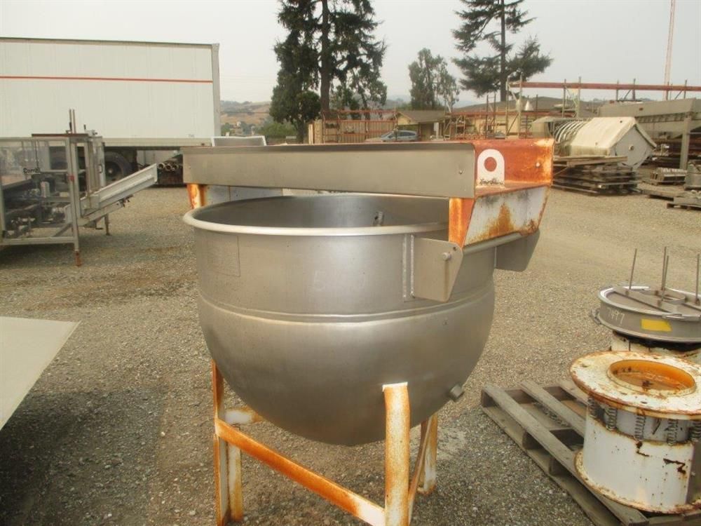 Image 100 Gallon HAMILTON Single Motion Kettle 1505220