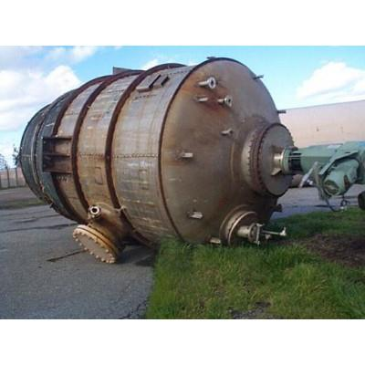 8000 Gallon STRUTHERS WELLS 316 ELC Stainless Steel Crystallizer