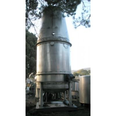 800 Gallon MINNOTTE 316 Stainless Steel Hot Brake Coil Tank,  5