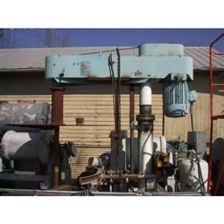 Image 50 HP SCHOLD Hi Speed Carbon Steel Hydraulic Lift Dispersion Mixer 346148
