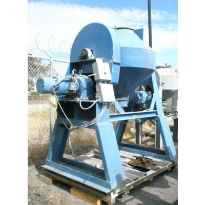 20 CF Carbon Steel Intensifier Bar Conical Mixer, 5 HP