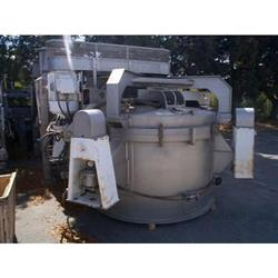 "130890 - 60"" x 40"" WESTERN STATES Stainless Steel Perforated Basket Centrifuge"
