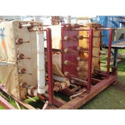 Image 216 SF ALFA LAVAL Graphite Plate Heat Exchanger 346370