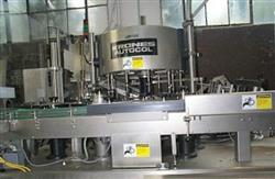 Image KRONES Autocol Pressure Sensitive Labeler, 110 BTLS/MIN 346386