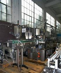 Image KRONES Autocol Pressure Sensitive Labeler, 110 BTLS/MIN 346387