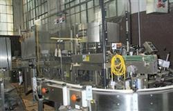 Image KRONES Autocol Pressure Sensitive Labeler, 110 BTLS/MIN 346390