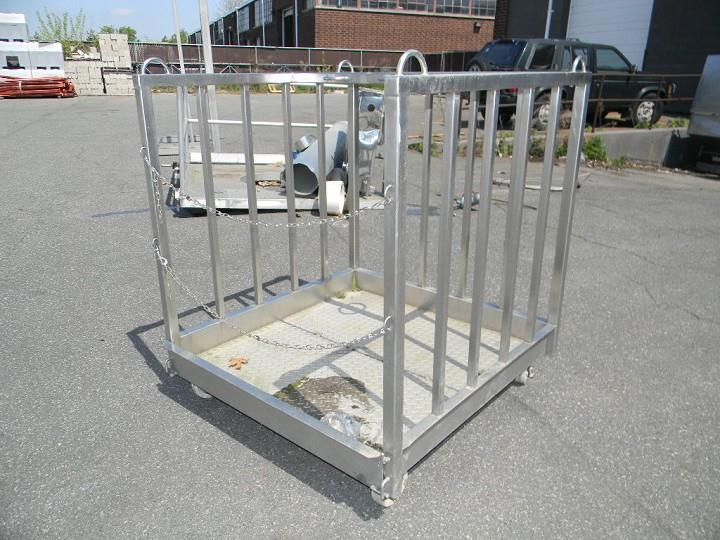 Image Stainless Steel Platform on Wheel 346450