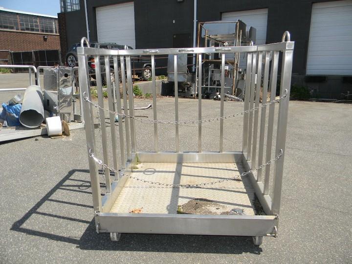 Image Stainless Steel Platform on Wheel 346451