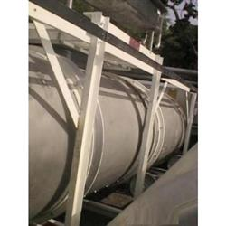 "131336 - 36"" x 20' LATINI Stainless Steel Rotary Cooler"