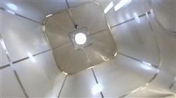 Image 950 CF Sanitary Stainless Cone Bottom Bin, 8