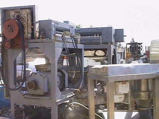 40 HP CUMBERLAND Plastic Pelletizer/Grinder, Stainless Steel