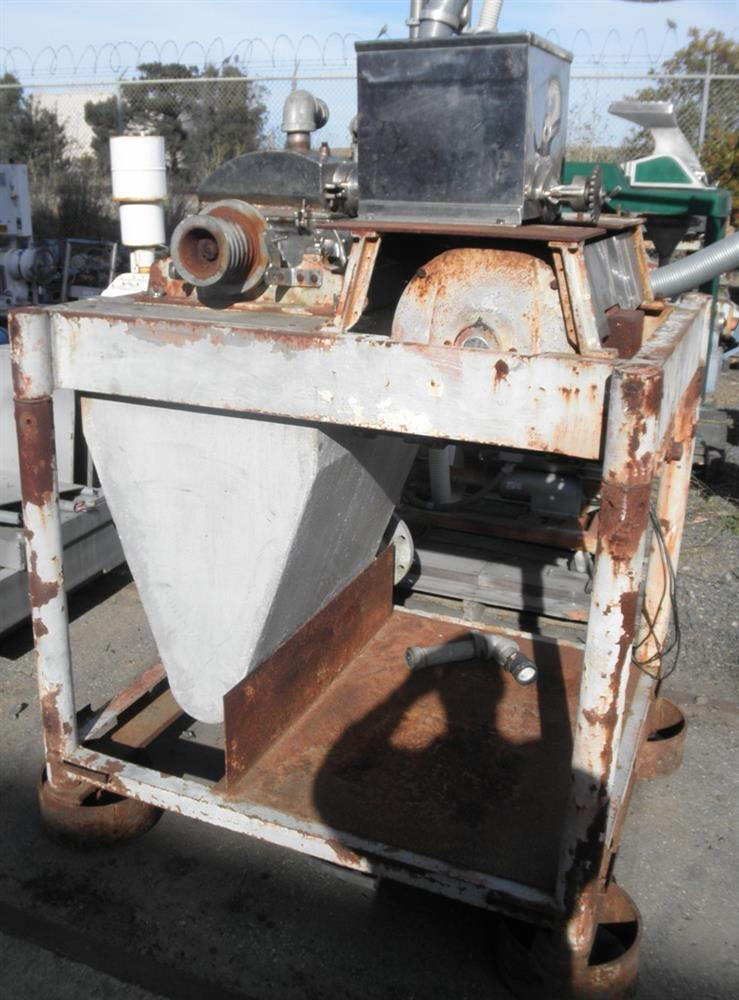 Image FITZMILL DASO-6 Stainless Steel Mill w/ Screw Feeder, 20 HP 861741