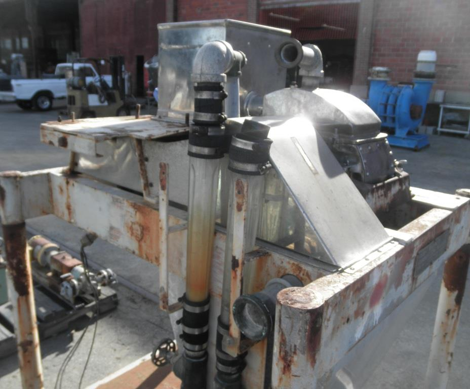 Image FITZMILL DASO-6 Stainless Steel Mill w/ Screw Feeder, 20 HP 861743