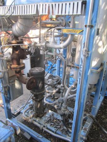 Image SANTASALO SOHLBERG Steam Heated Clean Steam Generator Heat Exchanger 430061