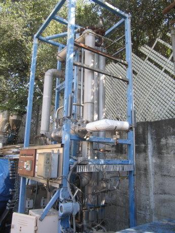 Image SANTASALO SOHLBERG Steam Heated Clean Steam Generator Heat Exchanger 430056