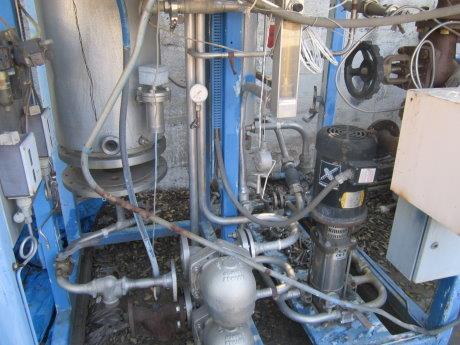 Image SANTASALO SOHLBERG Steam Heated Clean Steam Generator Heat Exchanger 430057