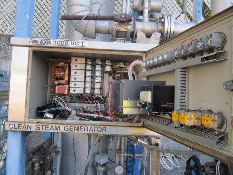 Image SANTASALO SOHLBERG Steam Heated Clean Steam Generator Heat Exchanger 430059