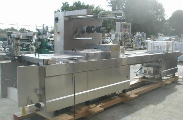 TIROMAT Type 660 Stainless Steel Thermoformer/Tray Former