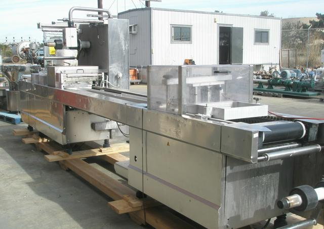 Image TIROMAT Type 660 Stainless Steel Thermoformer/Tray Former 346954