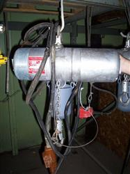 131600 - 1/2 Ton LODESTAR Electric Chain Hoist, 230-460 V
