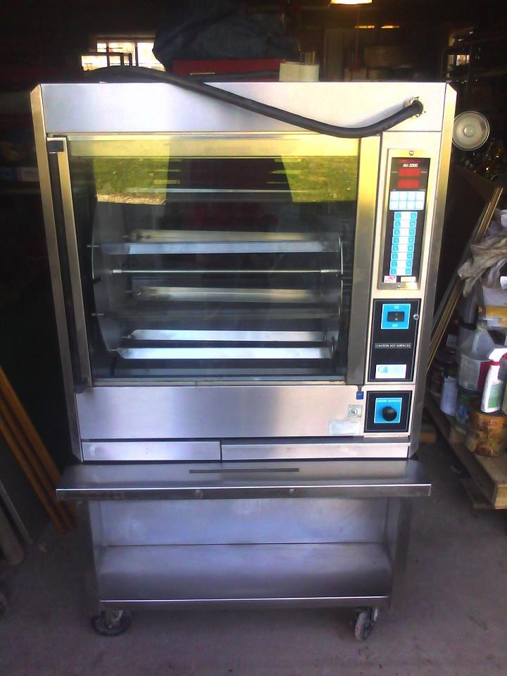 FASTRON IM-2000 Electric Rotisserie Oven