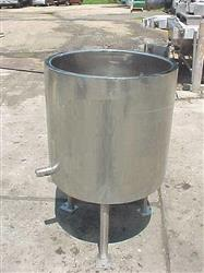 131763 - 40 Gallon LEE 40D Open Top Jacketed Kettle