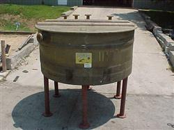 Image 450 Gallon RESIN-FAB Open Top Heavy Duty Fiberglass Tank 347526