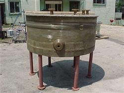 Image 450 Gallon RESIN-FAB Open Top Heavy Duty Fiberglass Tank 347527