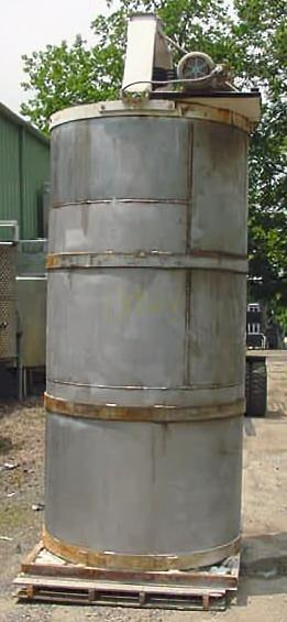 Image 750 Gallon Open Top Stainless Steel Mixing Tank 347540