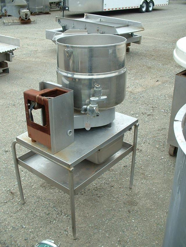 Image 10 Gallon GROEN Jacketed Kettle Model TDB/4-40 347734