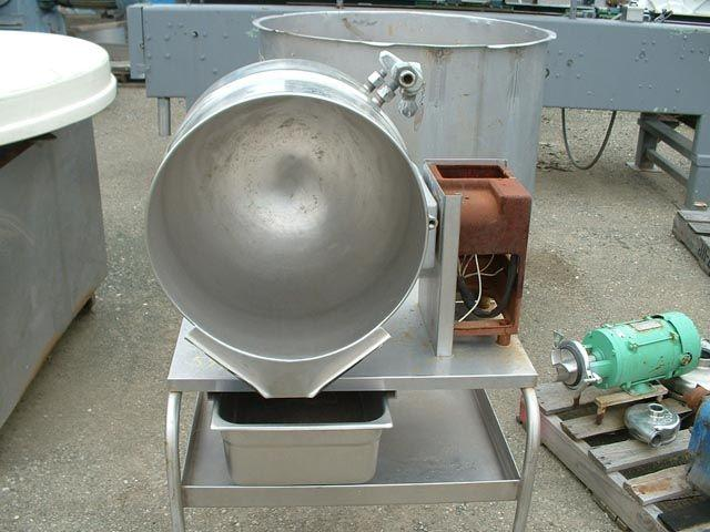 Image 10 Gallon GROEN Jacketed Kettle Model TDB/4-40 347735