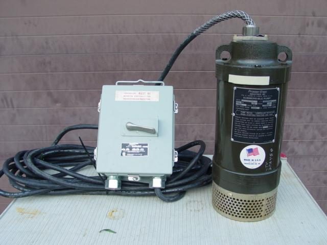PROSSER Submersible Pump 2HP  230V  1PH  w/ Control - Never Used
