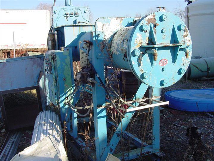 Hydraulic Can Crusher w/ Automatic Discharge