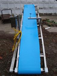 "133062 - 16"" x 105"" Inclined Cleated Troughing Conveyor"