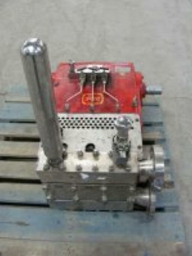40 HP PEC Homogenizer Pressure Pump