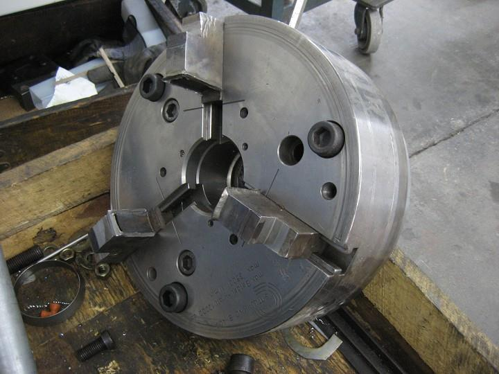 "15"" SMW Autoblok Three Jaw Chuck"