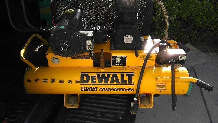 Dewalt D55580 Air Compressor Dewalt D Gallon Electric