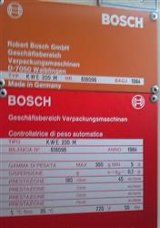 Image BOSCH KWE 200M Checkweigher 651747